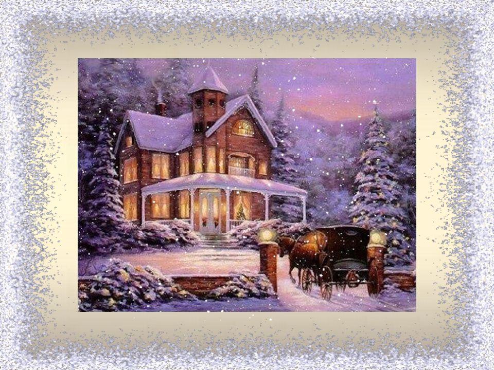 V okně kvetou květy z ledu, těšíme se na koledu. Krátký den a dlouhá noc, už je blízko do Vánoc.