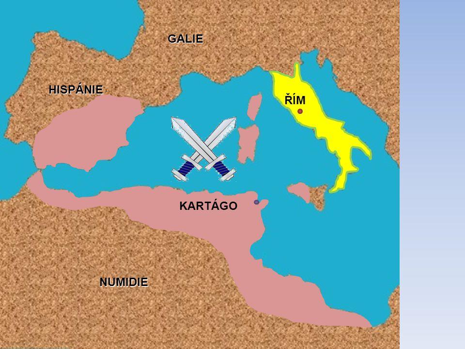 PUNSKÉ VÁLKY Boj o ovládnutí západního středomoří 264 – 146 př. n. l. [1]