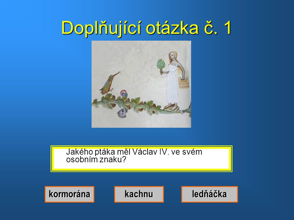 Správná odpověď.Byl to Václav IV.