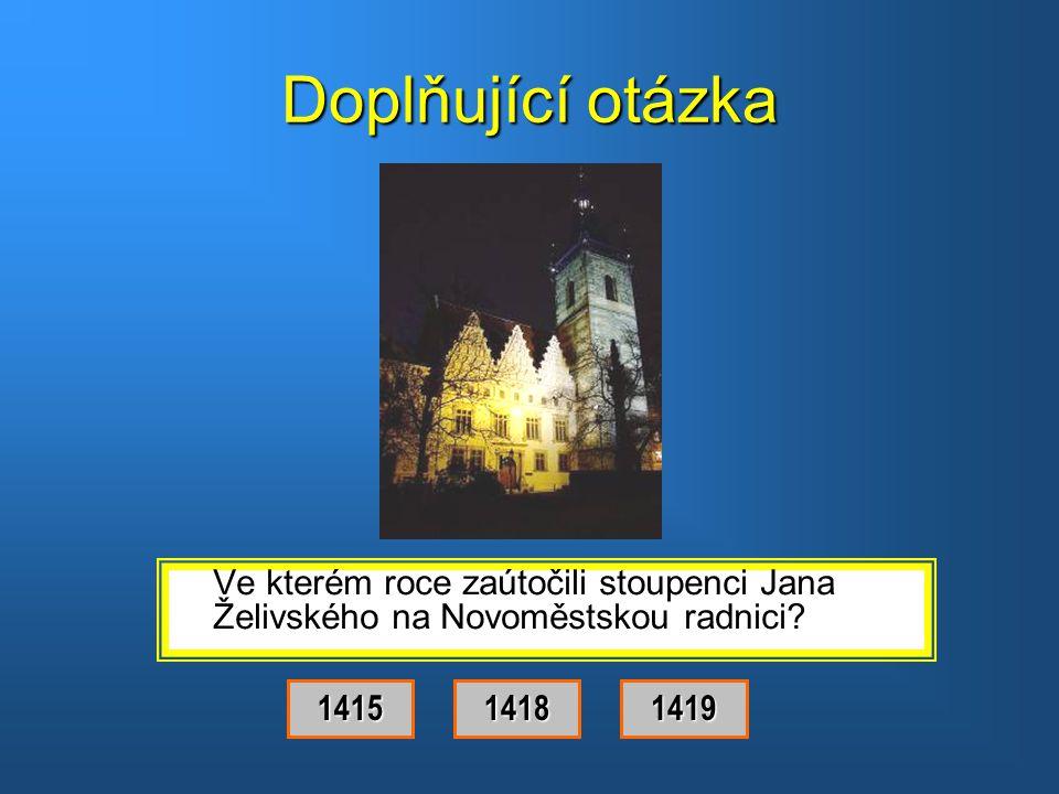 Správná odpověď.Byl to Jan Želivský.