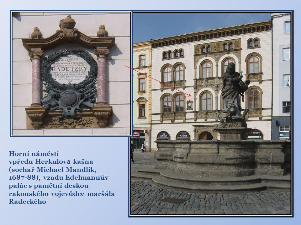 Hauenschildův palác Renesanční stavba, nacházející se na Dolním náměstí byla vybudována městskou rodinou Hauenschildů patrně roku 1583.