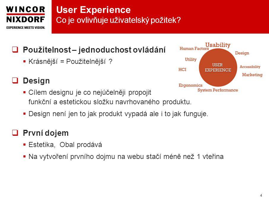 User Experience Co je ovlivňuje uživatelský požitek.