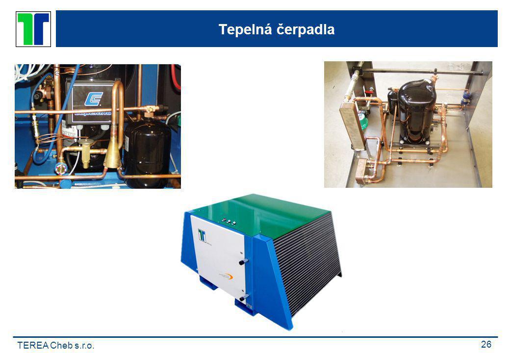 TEREA Cheb s.r.o. 26 Tepelná čerpadla