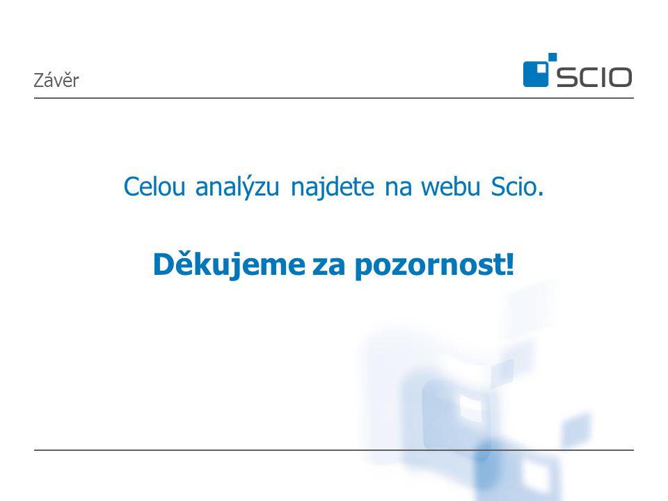 Závěr Celou analýzu najdete na webu Scio. Děkujeme za pozornost!