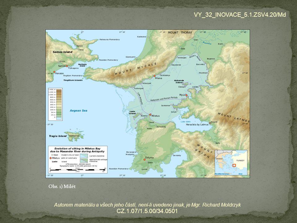 Zamysli se a diskutuj.Proč se právě město Milét stalo kolébkou řecké filozofie.