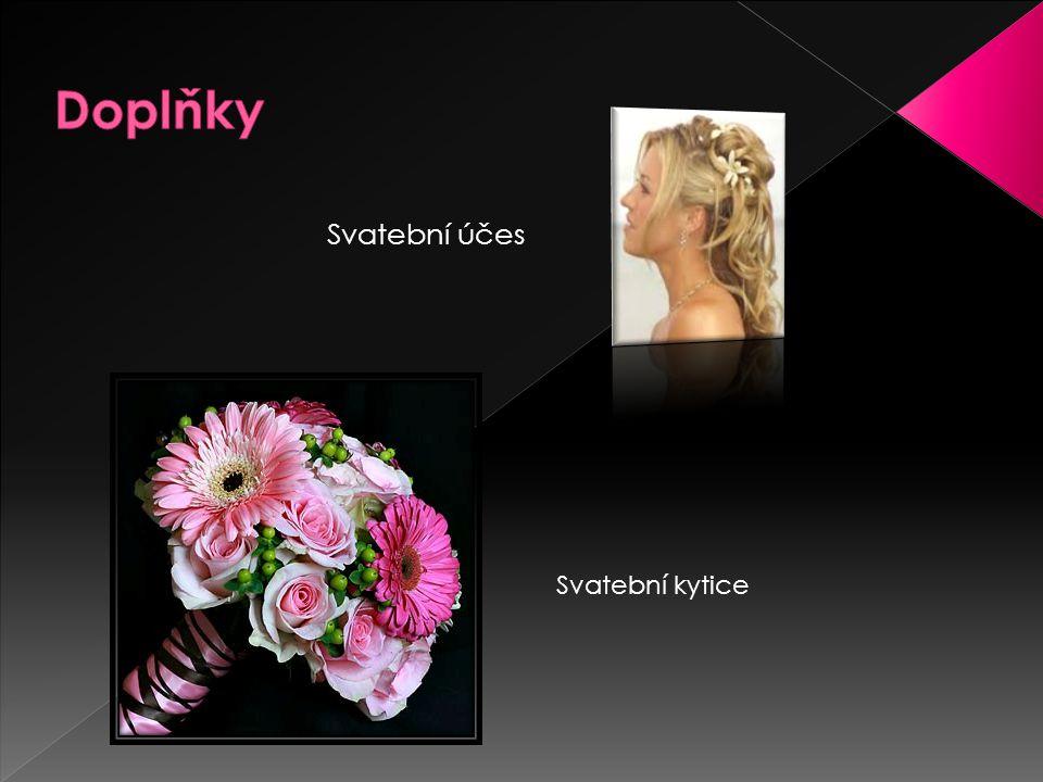 Svatební účes Svatební kytice