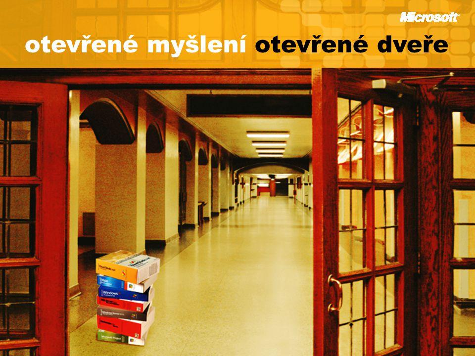 otevřené myšlení otevřené dveře