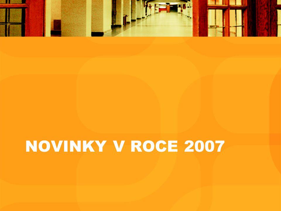NOVINKY V ROCE 2007
