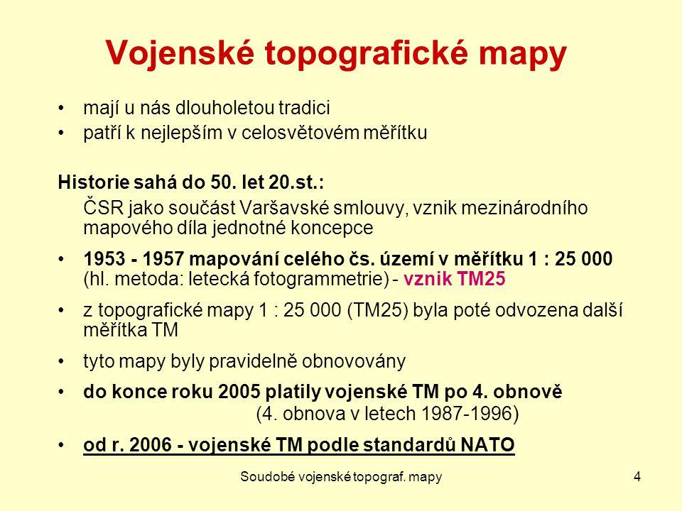 SMD - další produkty25 Mapy územních celků Mapa krajů ČR 1 : 200 000