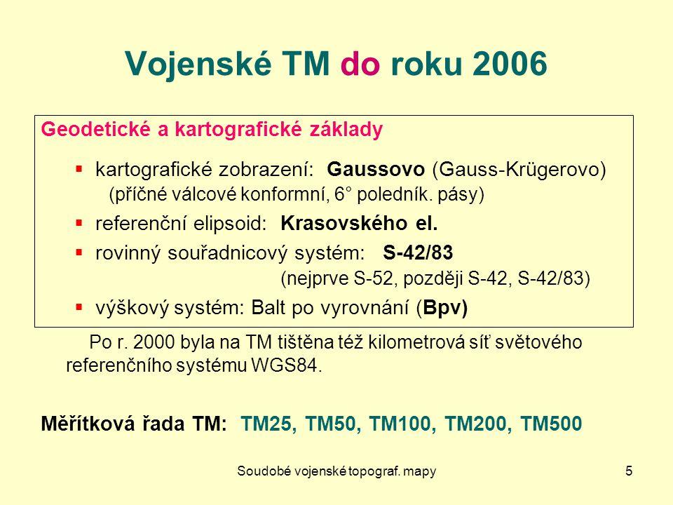 SMD - další produkty26 Mapy územních celků Česká republika 1 : 500 000 Pozn.: Také rastrová RMČR 500