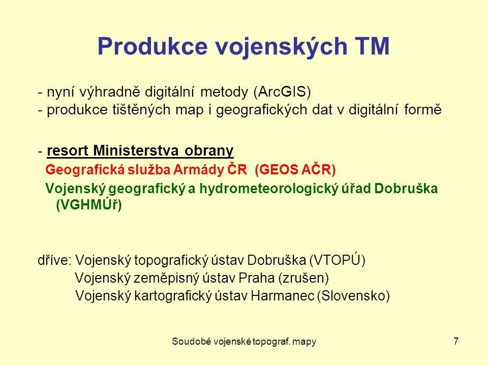 Webové mapové služby48 WMS dotazy http://wms.cuzk.cz/wms.asp.