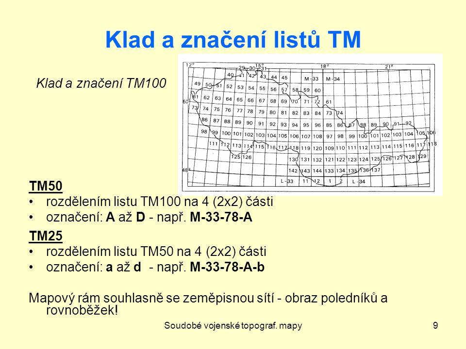 Základní mapa středního měřítka20 Nové ZM z dat ZABAGED Nová série Základních map – vzniká od r.