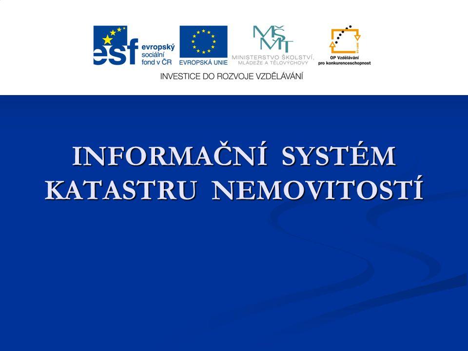 Poskytování údajů z KN ( 1) Vedle webových služeb Dálkového přístupu k datům KN (placená služba) a Nahlížení do KN (omezený rozsah informací, zdarma) zajišťují resortní organizace celou řadu dalších datových služeb.