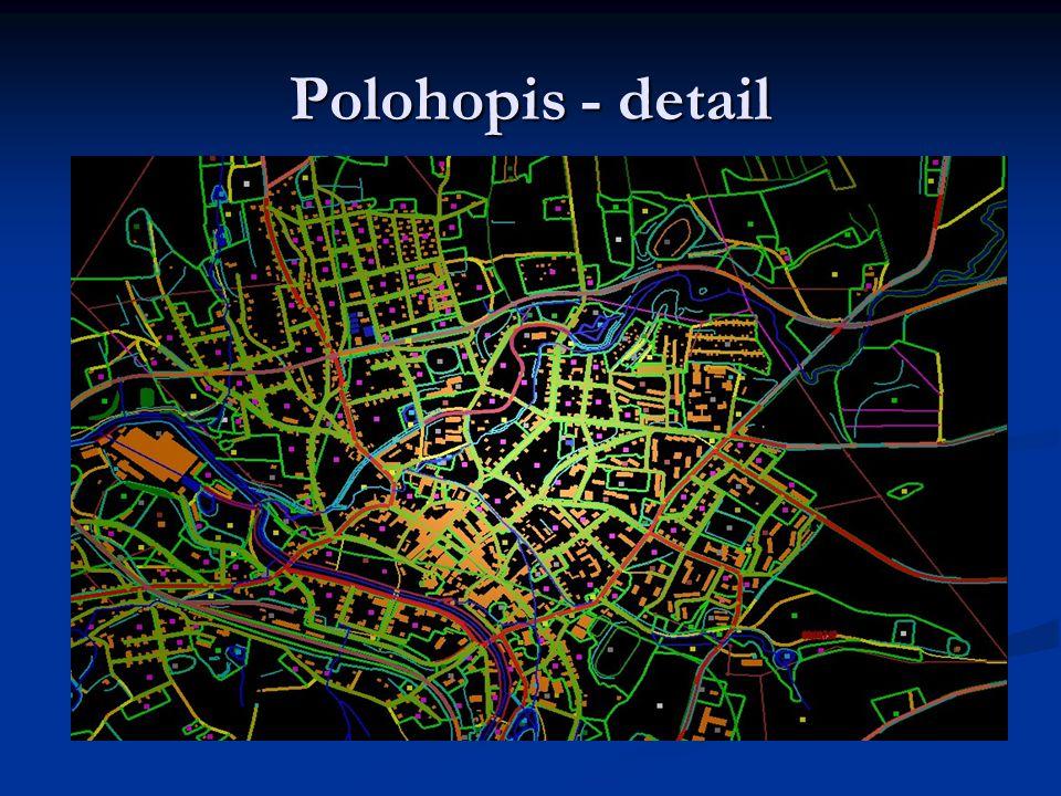 Polohopis - detail