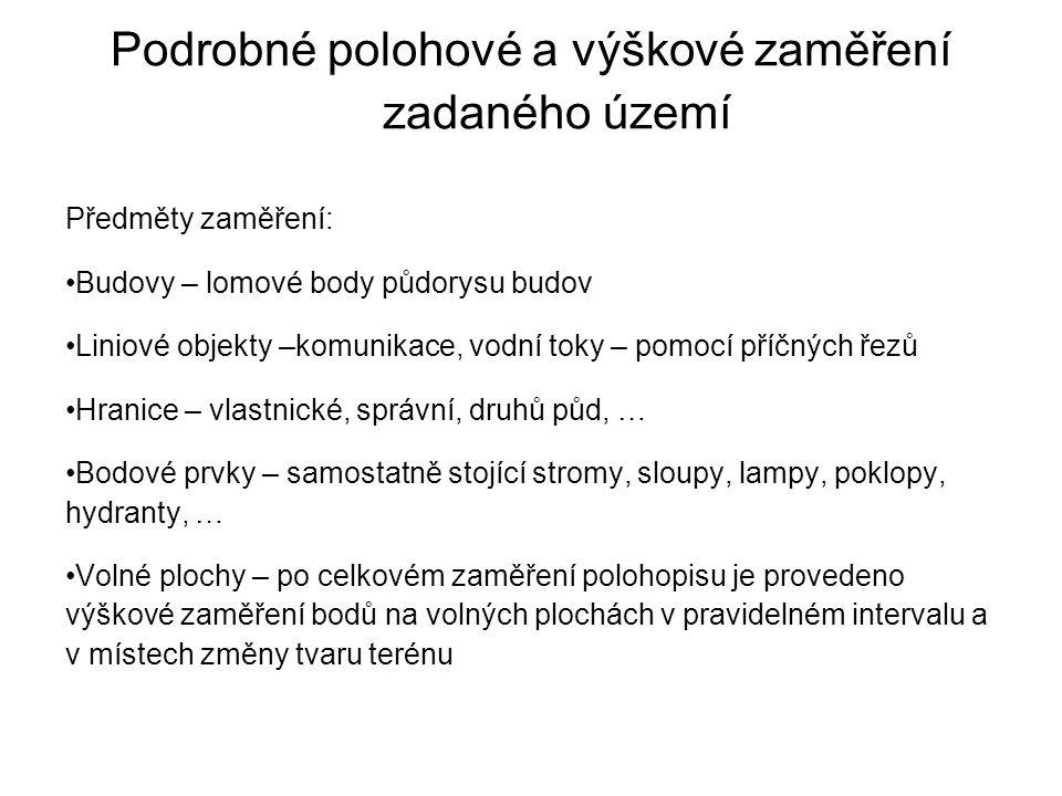 Dokumentace skutečného provedení stavby Zákon č.183/2006 Sb.