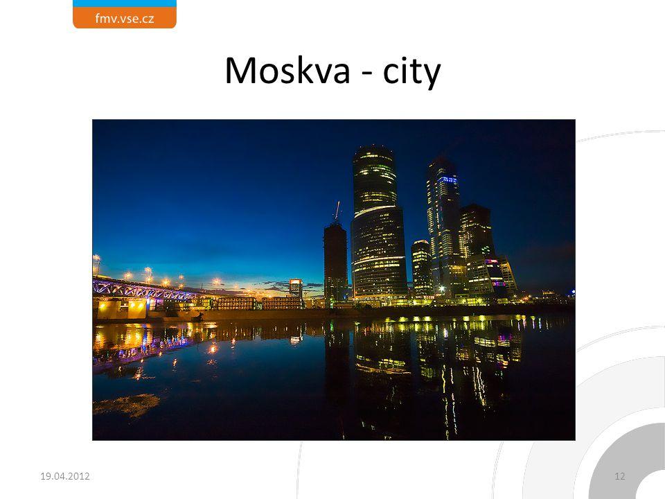 Moskva - city 19.04.201212