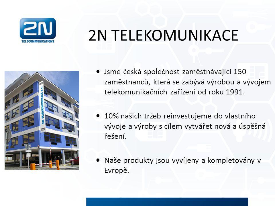 Jsme česká společnost zaměstnávající 150 zaměstnanců, která se zabývá výrobou a vývojem telekomunikačních zařízení od roku 1991. 10% našich tržeb rein