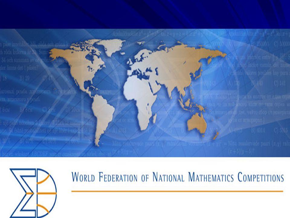 The World Federation of National Competitions WFNMC byla založena v roce 1984 na ICME 5 v Austrálii v Adelaide.
