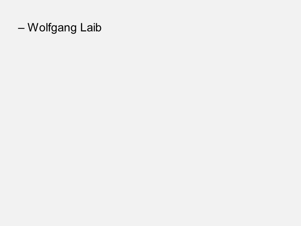 –Wolfgang Laib