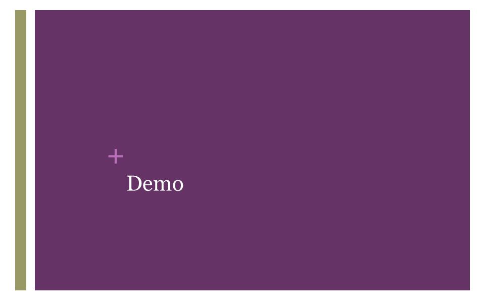 + Demo