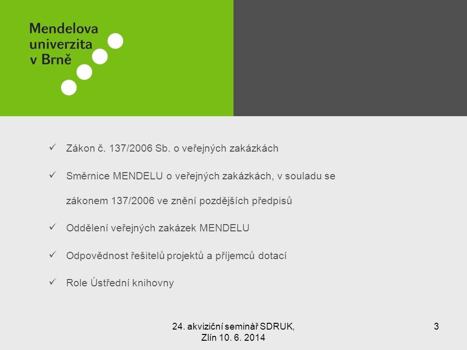 Zákon č. 137/2006 Sb.