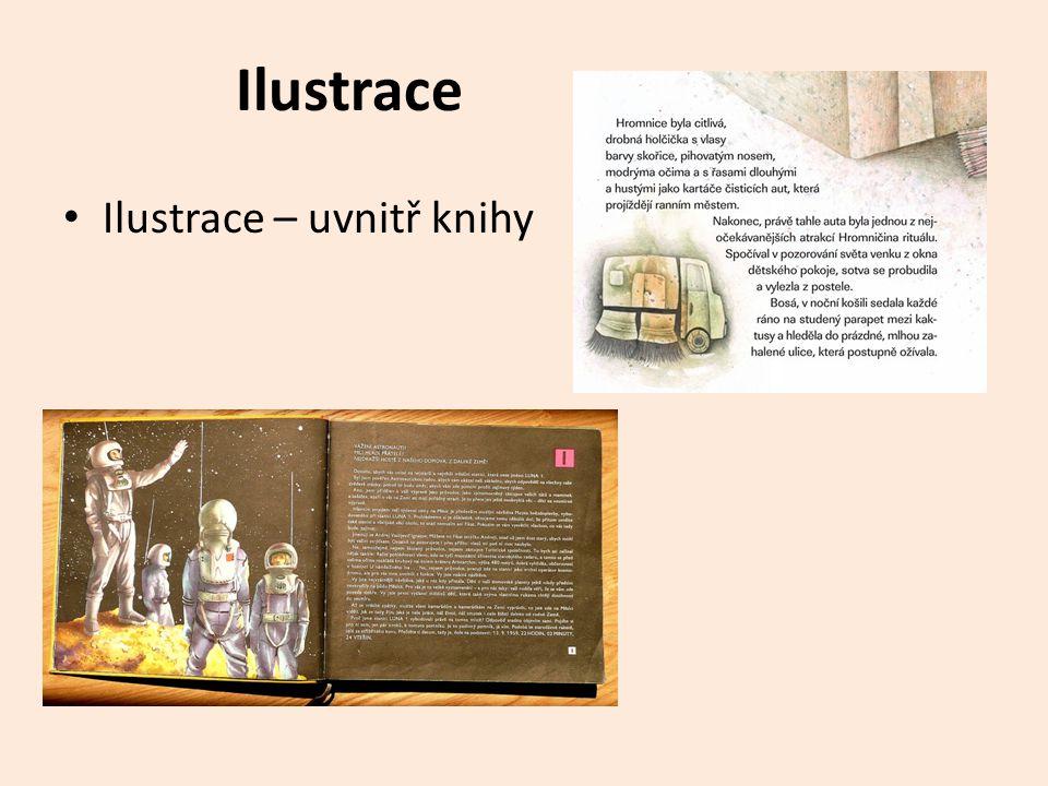 Ilustrace Ilustrace – uvnitř knihy