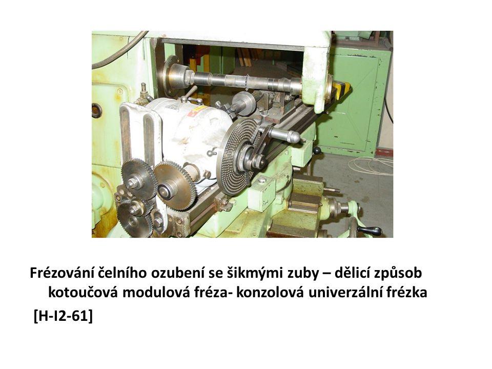 Odvalovací broušení čelních ozubených kol – systém Reishauer [H-I2/76]
