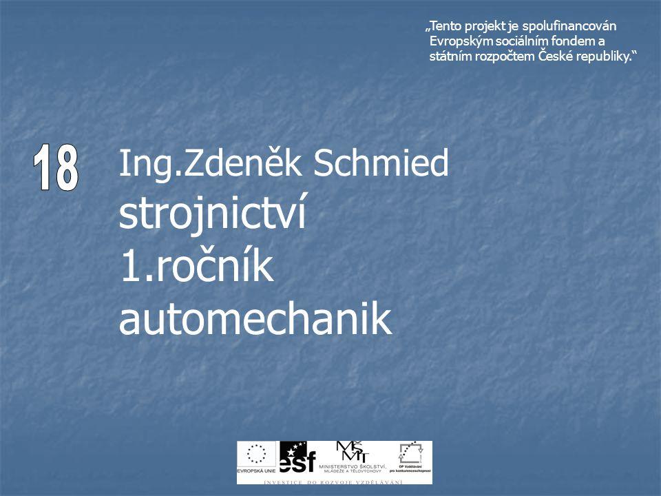 Téma : Převody ozubenými koly Ing.Zdeněk Schmied