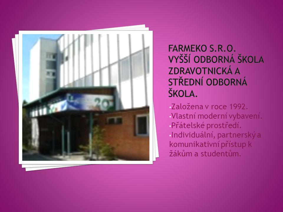 VOŠ Obory  Diplomovaný farmaceutický asistent (53-43-N/1) SOŠ Obory  Laboratorní asistent (53-43-M/01)  Ekologie a životní prostředí (16-01-M/01) Rekvalifikační kurzy  Kosmetické služby