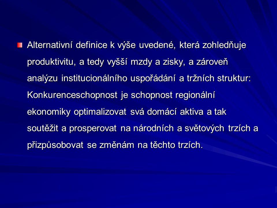Doporučení pro regiony NUTS II v Evropské unii směřovala na podporu partnerství v centrech regionálního rozvoje, výstavby a modernizace dopravní infrastruktury, rozvoje VaV ve vazbě na aplikační sféru, rozvoje lidských zdrojů, zkvalitňování institucionálního prostředí, včetně legislativního rámce, a podporu malého a středního podnikání, rozvoje cestovního ruchu v návaznosti na endogenní podmínky atraktivity regionu, budování a zkvalitňování technické infrastruktury.