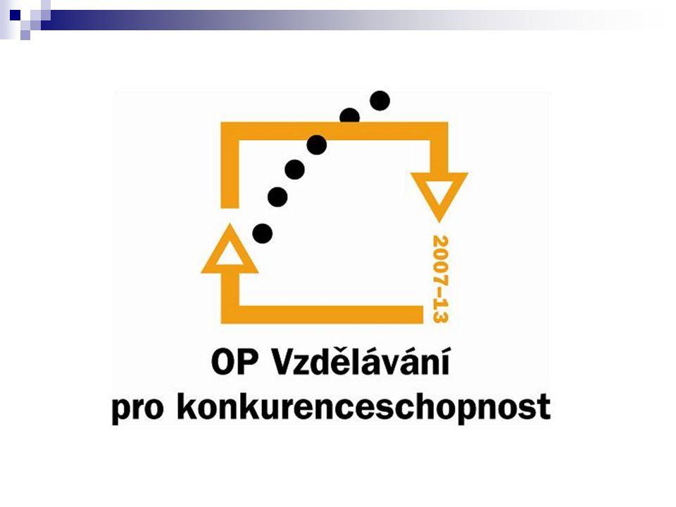 OP VpK – Finanční rámec financováno z Evropského sociálního fondu (ESF) tj.