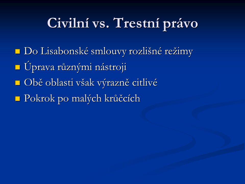 Civilní vs.