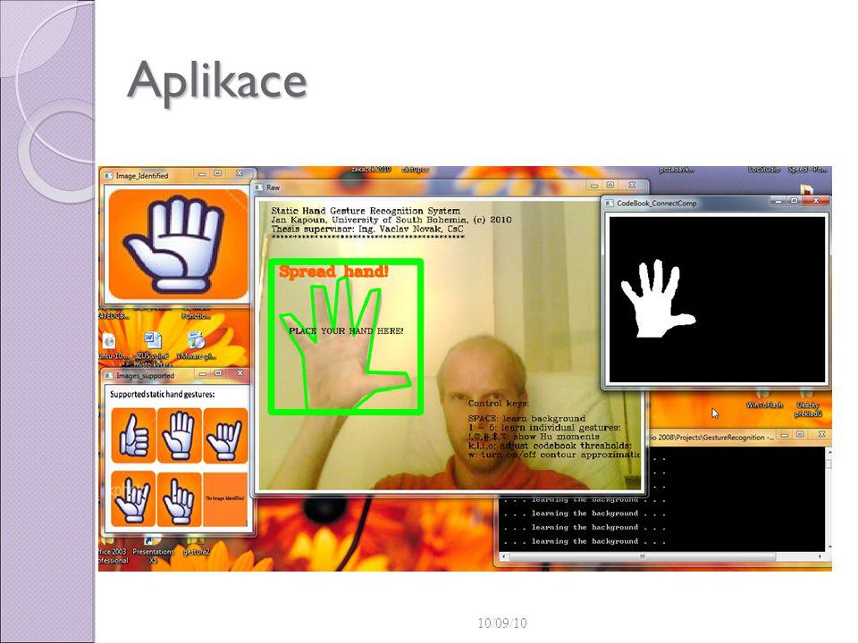10/09/10 Aplikace