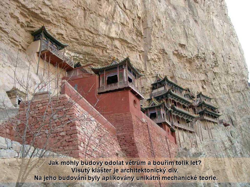 Visutý klášter byl postaven v roce 491, přežil více než 1400 let. Současný klášter byl z velké části přestavěn a byl udržován v dynastií Ming (1368-16