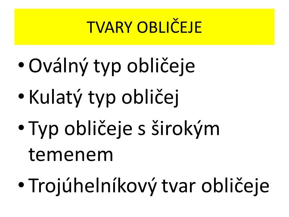 Univerzální tvar – OVÁL Obrázek použit z:http://www.google.cz/imgres?imgurl=http://www.takosmetika.cz/wp-content/uploads/oval.png&imgrefurl=http://www.takosmetika.cz/471-ucesy-podle-tvaru- obliceje&h=250&w=300&sz=95&tbnid=Du8OfmOh9O-W3M:&tbnh=90&tbnw=108&zoom=1&usg=__1yGpLqCmBUIae0JhSblldF2ILlo=&docid=zmtzM- KcgxXd0M&sa=X&ei=OO2tUtjVIaHB7Aby9YAo&ved=0CEYQ9QEwAg&dur=3078