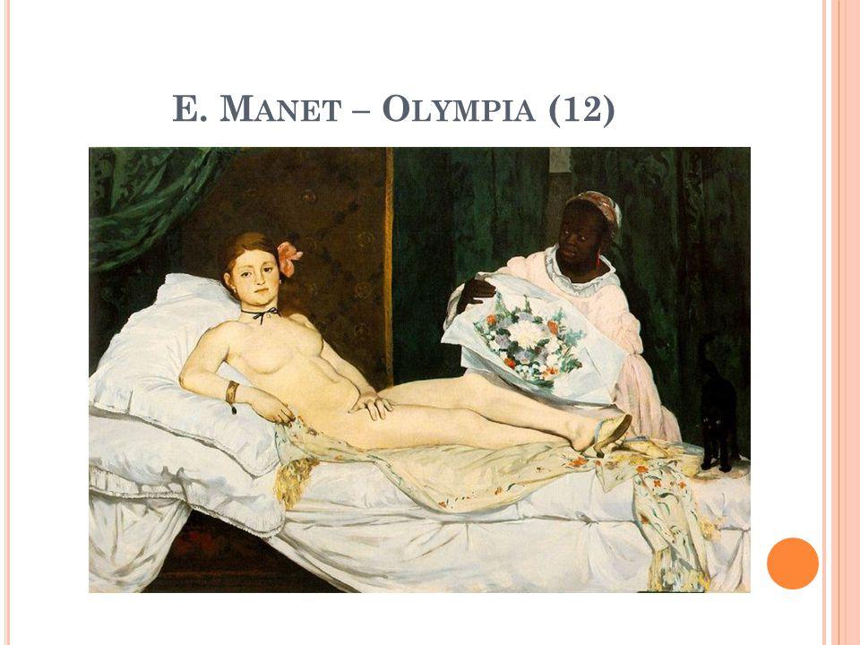 E. M ANET – O LYMPIA (12)