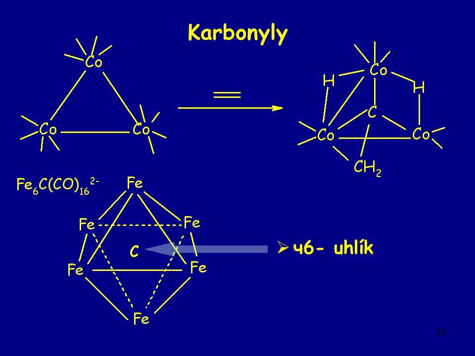 24 Karbonyly  ч6- uhlík