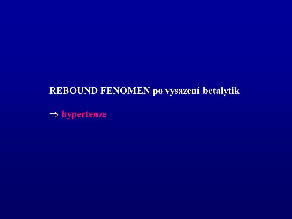 REBOUND FENOMEN po vysazení betalytik  hypertenze