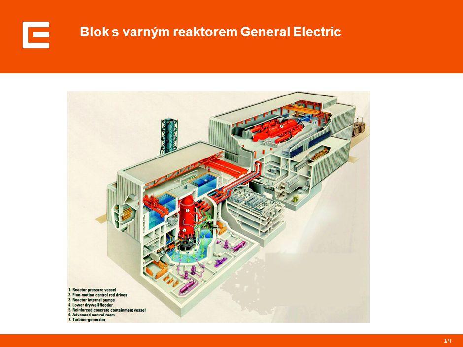 14 Blok s varným reaktorem General Electric