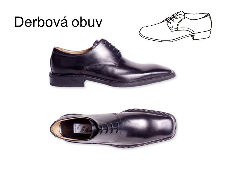 Derbová obuv