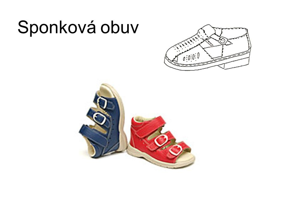 Sponková obuv