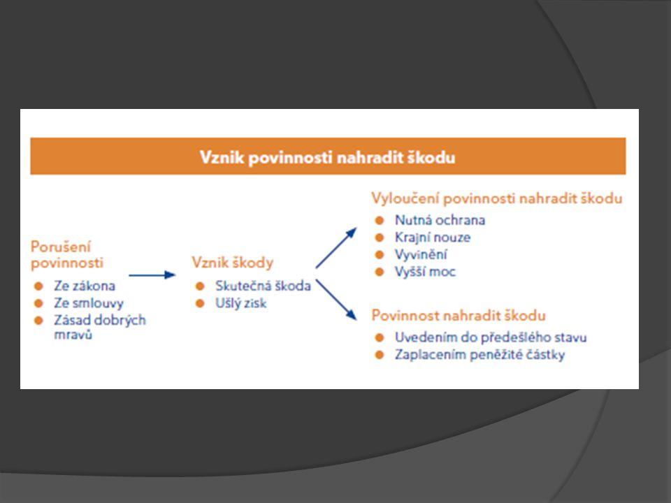 Škoda způsobená vadou výrobku (§§ 2939 an.) 100  Směrnice Rady 85/374/EHS, o sbližování právních předpisů členských států týkajících se odpovědnosti za vadné výrobky  Objektivní odpovědnost za škodu způsobenou vadou výrobku Účel: ochrana spotřebitele (srov.