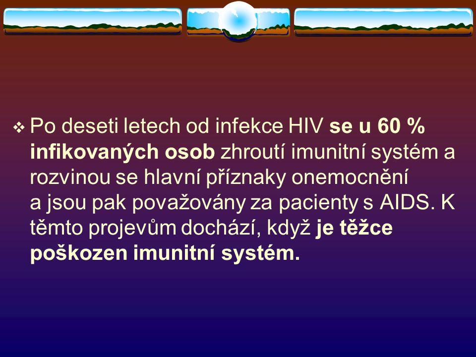  Člověk nakažený AIDS je v posledních fázích nemoci odkázán na pomoc okolí.