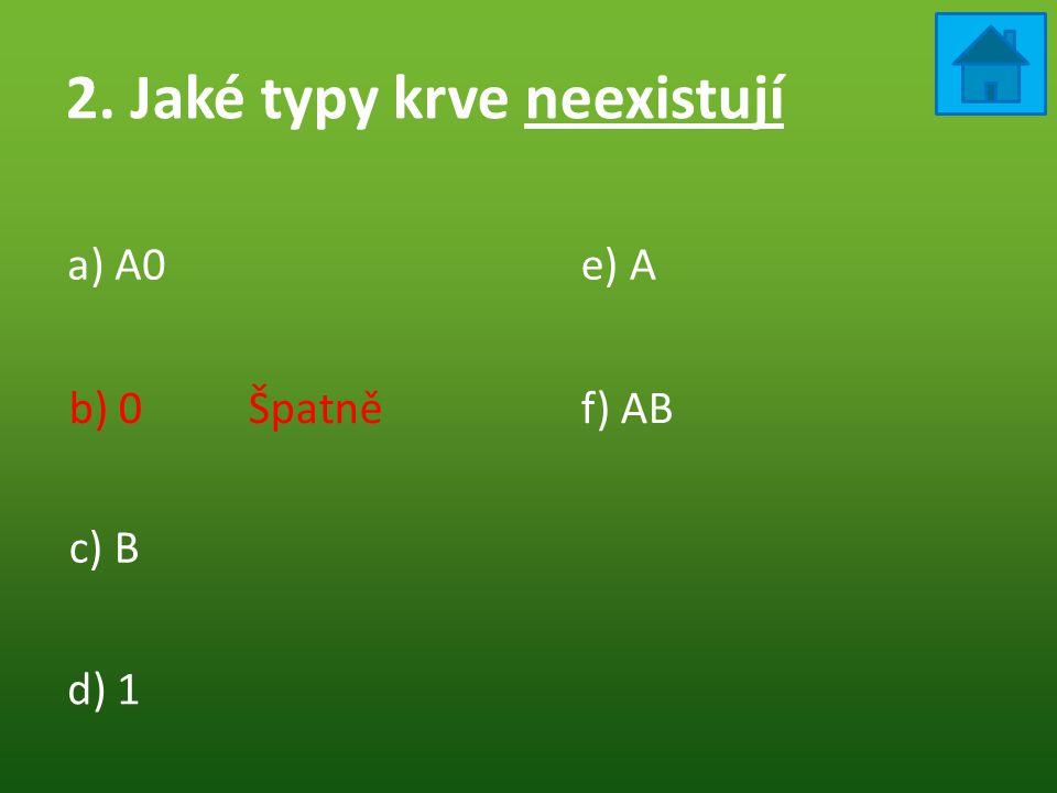 8. Která část srdce je okysličená a) Pravá b) Levá c) HorníŠpatně ! d) Spodní