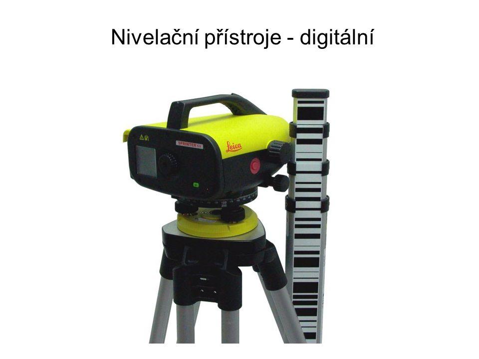 Nivelační přístroje - digitální