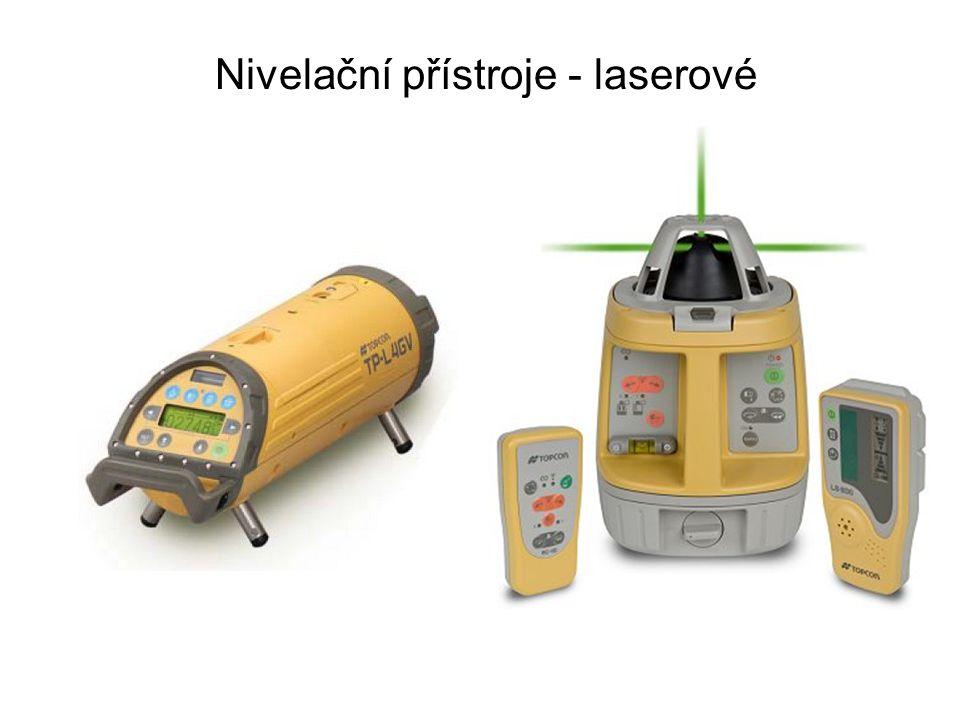 Nivelační přístroje - laserové