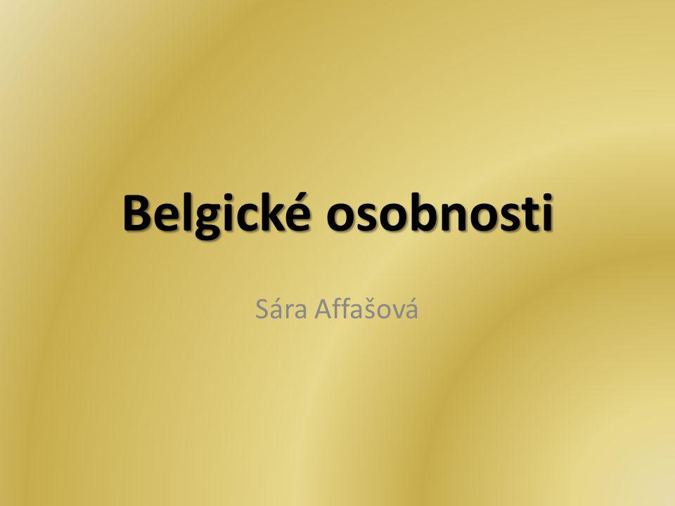 Belgické osobnosti Sára Affašová