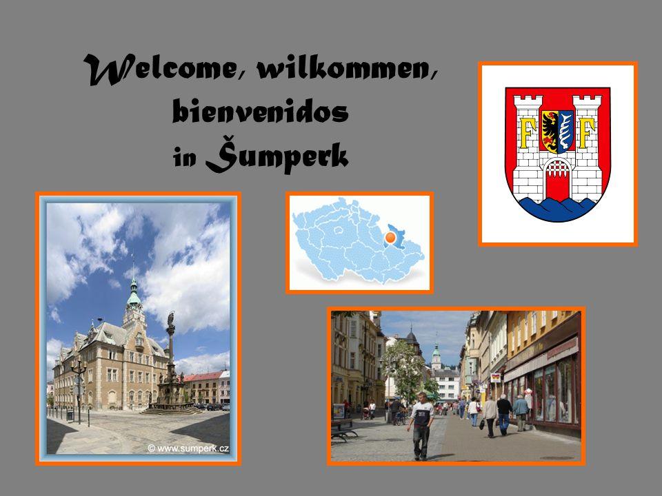 Welcome, wilkommen, bienvenidos in Šumperk