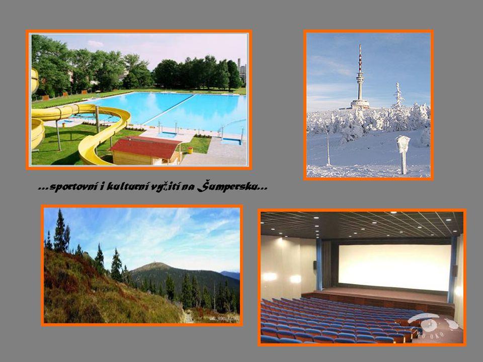 …sportovní i kulturní vy ž ití na Šumpersku…