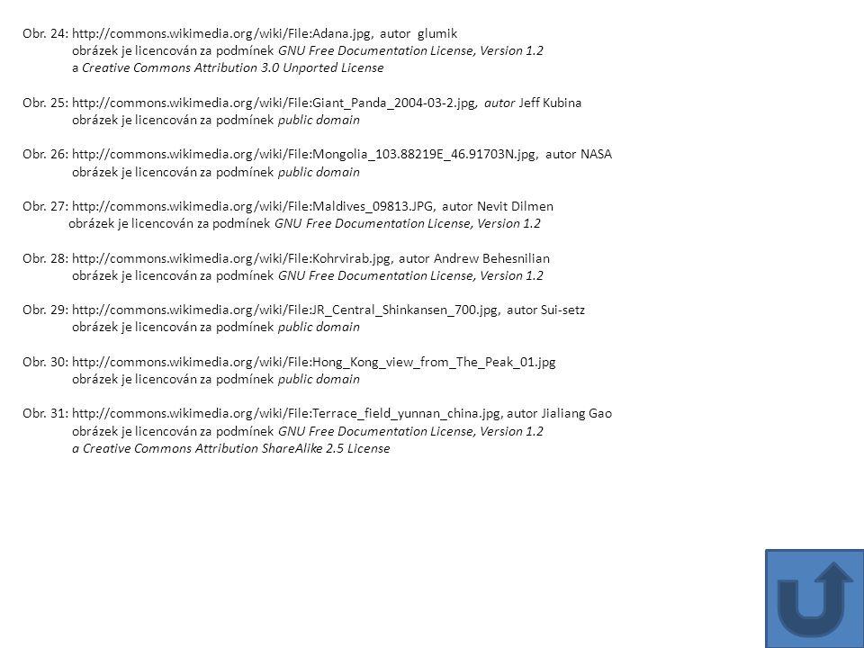 Obr. 24: http://commons.wikimedia.org/wiki/File:Adana.jpg, autor glumik obrázek je licencován za podmínek GNU Free Documentation License, Version 1.2